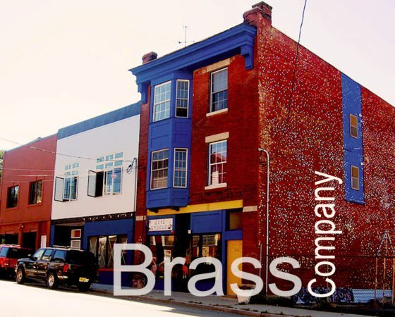 "Brass Company ""Home of Arts Unbound"""
