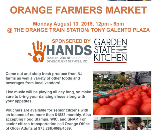 Orange Farmers Market, It's Coming Back!